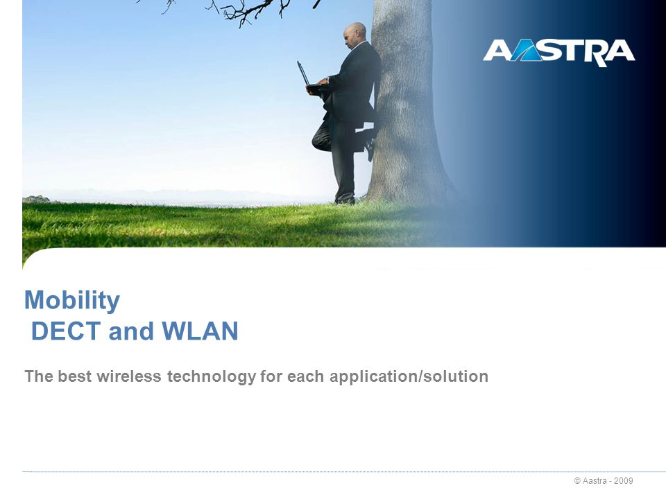 © Aastra - 2009 64 OpenCom 100 / X320 – Navigation Sales AdvantagesOpenCom 100Aastra 800 Wired Systel Aastra 677x (ip) Wired SIP Aastra 675x i Wireless DECT / WLAN Integrated Applications Ext.