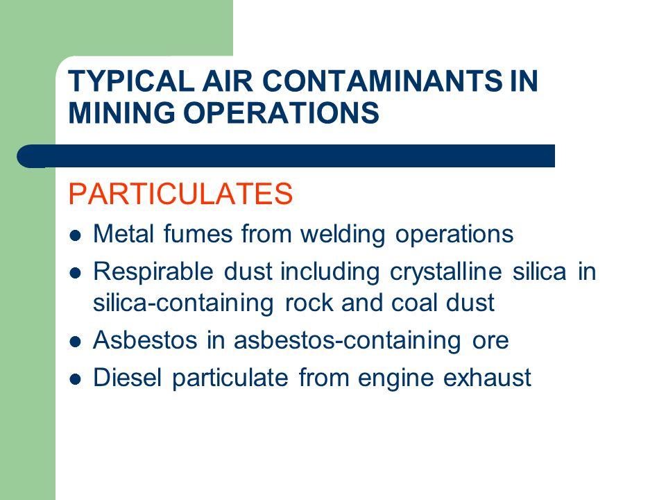 TOTAL DUST VS RESPIRABLE DUST SAMPLERS Respirable Dust Samplers Total Dust Samplers