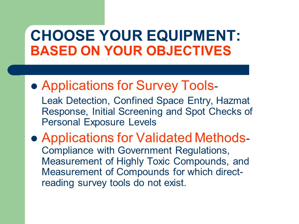 AIR SAMPLING: FOR DPM MSHA requires that DPM samples be collected using a specialty filter cassette.