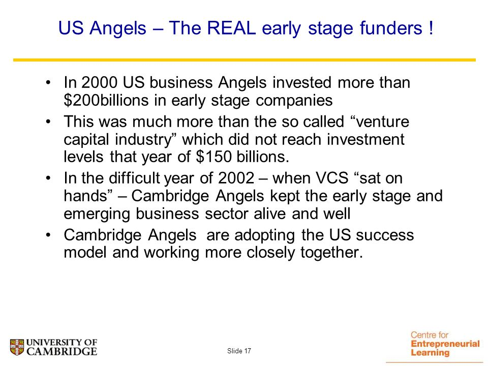 Slide 16 1990 1995 2000 2005 2010 Expectations WWW Invented Netscape Amazon.com Christmas 1999 Christmas 1998 E-tailers shakeout begins Internet in every business Investor disillusionment Business disappointment Robust e-businesses survive & thrive Pioneer investors LateInvestors Early investors But….Boom can lead to BUST- valuation implications.