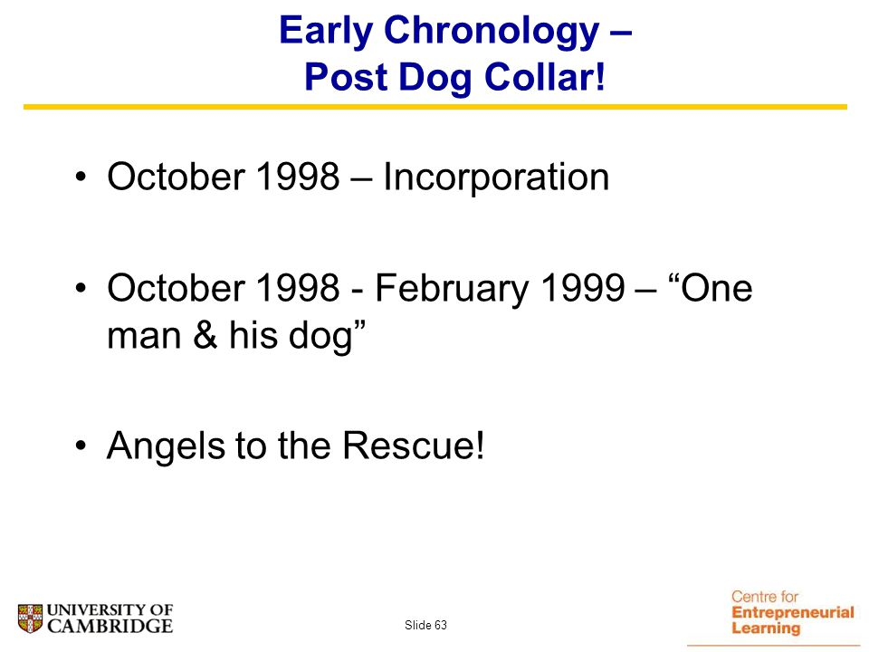 Slide 62 The original concept (Jan 1999)