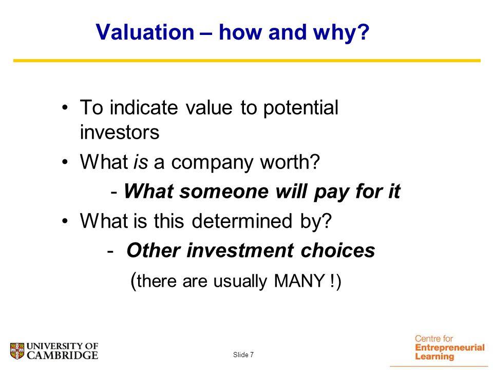 Slide 37 Investors due diligence agenda:- –Technology and I.P.