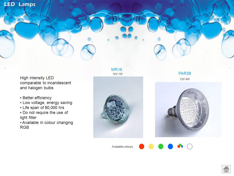 12V 35W 12V 50W Standard Lamps PAR38PAR36 MR16 PAR56 12V 50W 12V 80W 12V 50W 12V 100W 12V 80W colour 220V 50W 220V 120W 12V 300W Application: For wate