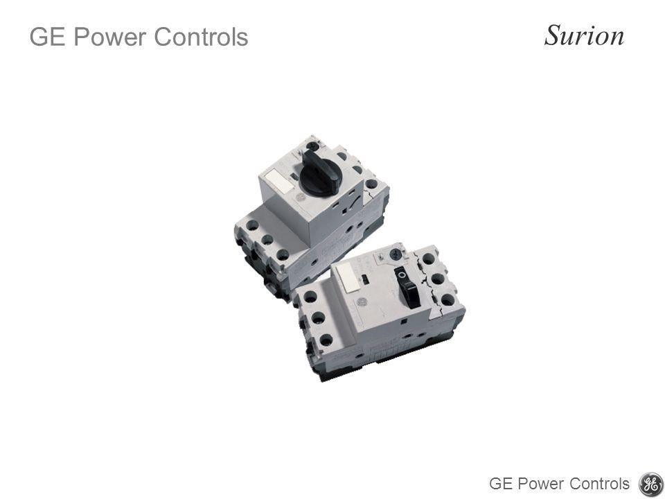 GE Power Controls Surion GE Power Controls