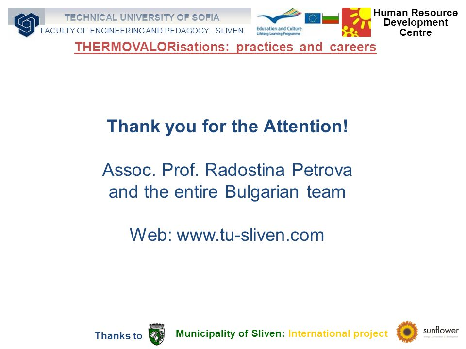 Thank you for the Attention. Assoc. Prof.