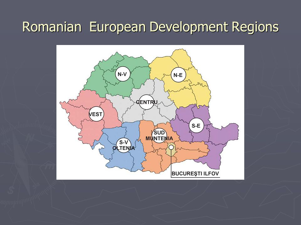 Romanian European Development Regions