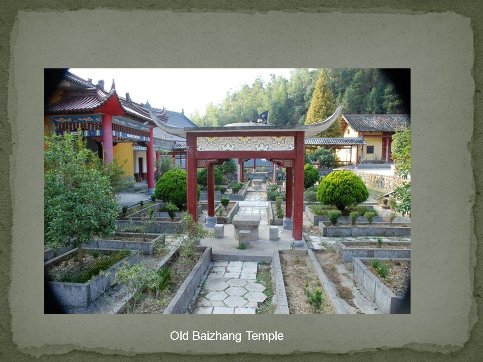 Baizhangs old temple.