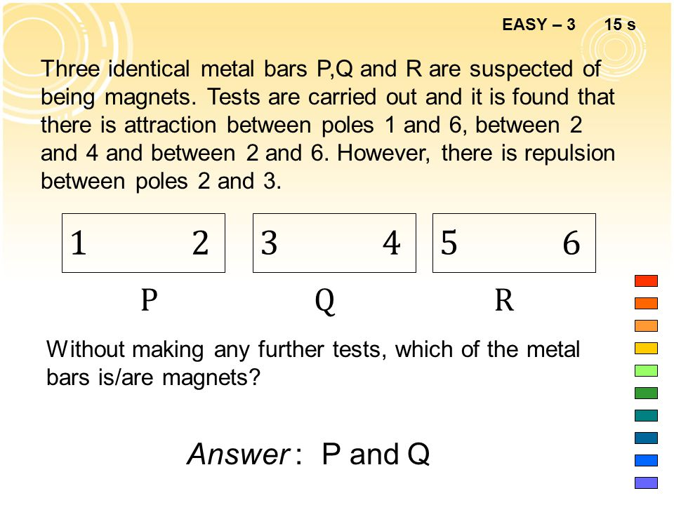 EASY – 2 10 s Answer :A Why is electrical energy usually transmitted at high voltage.
