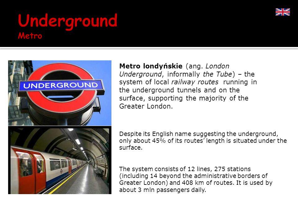Metro londyńskie (ang.