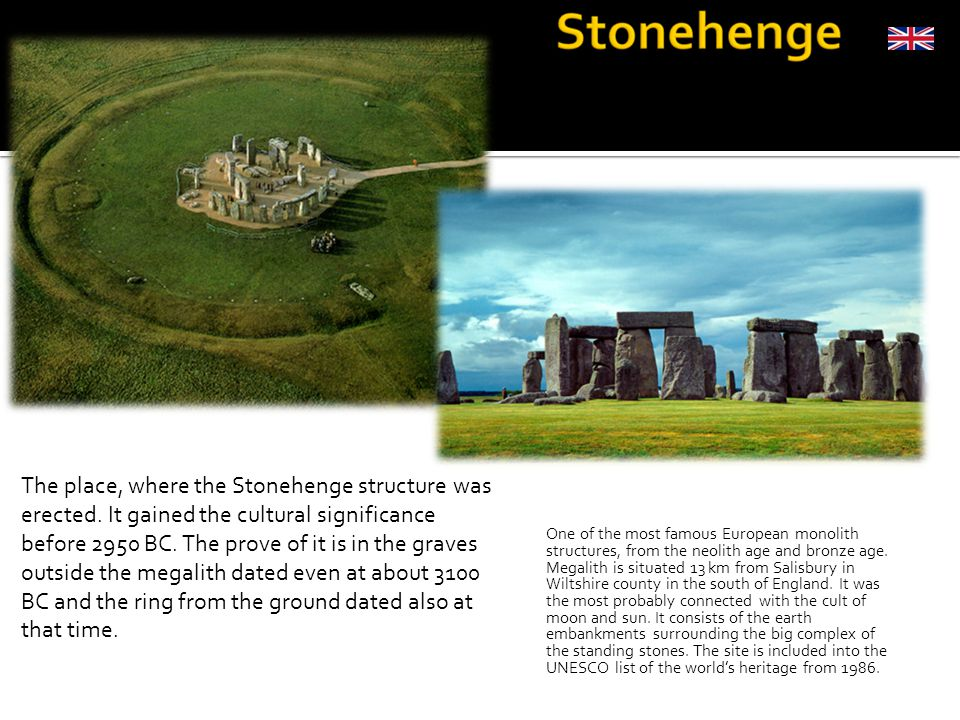 One of the most famous European monolith structures, from the neolith age and bronze age.