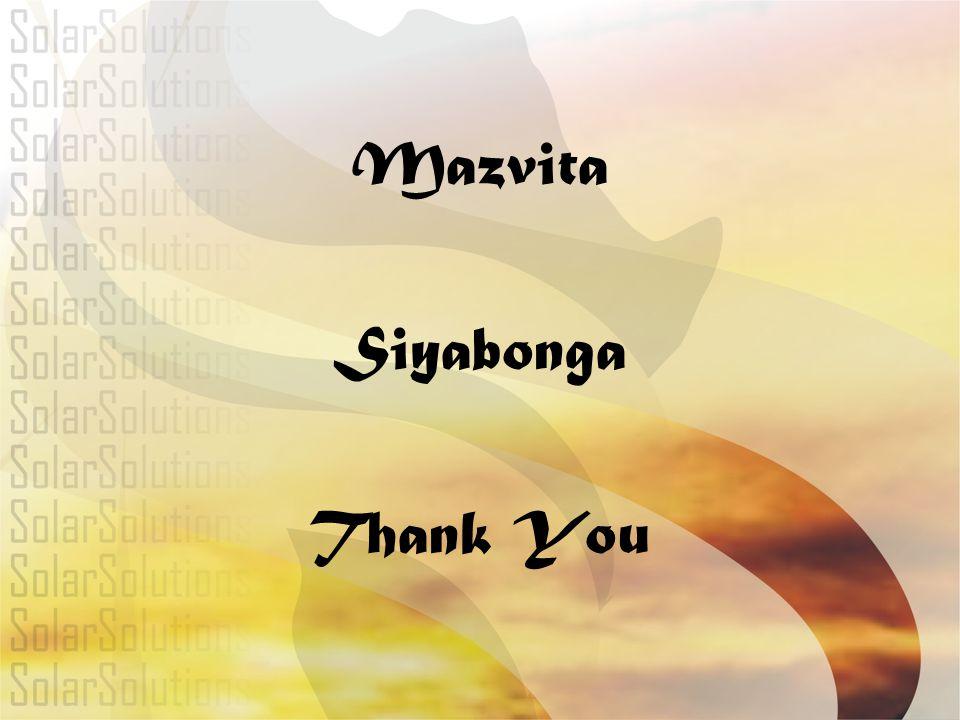 Mazvita Siyabonga Thank You