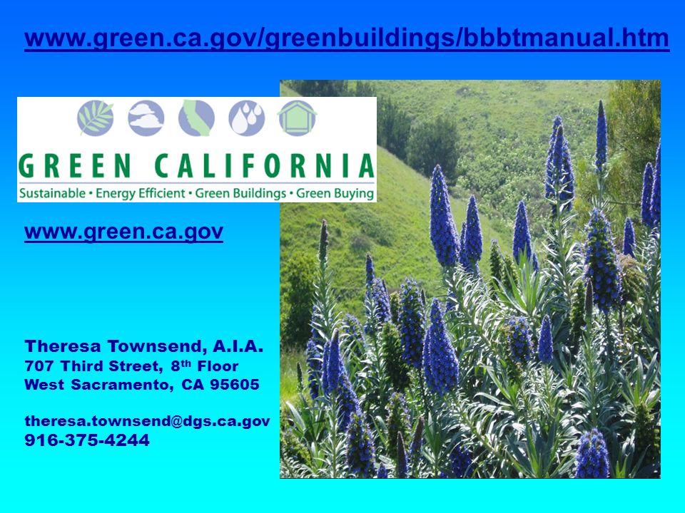 www.green.ca.gov Theresa Townsend, A.I.A.