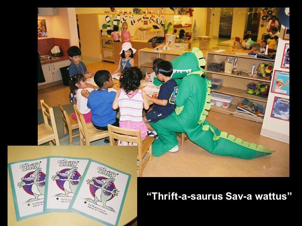 Thrift-a-saurus Sav-a wattus