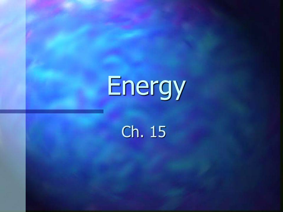 Mechanical Energy…2 parts Kinetic energy Kinetic energy Potential energy Potential energy ME = KE + PE ME = KE + PE