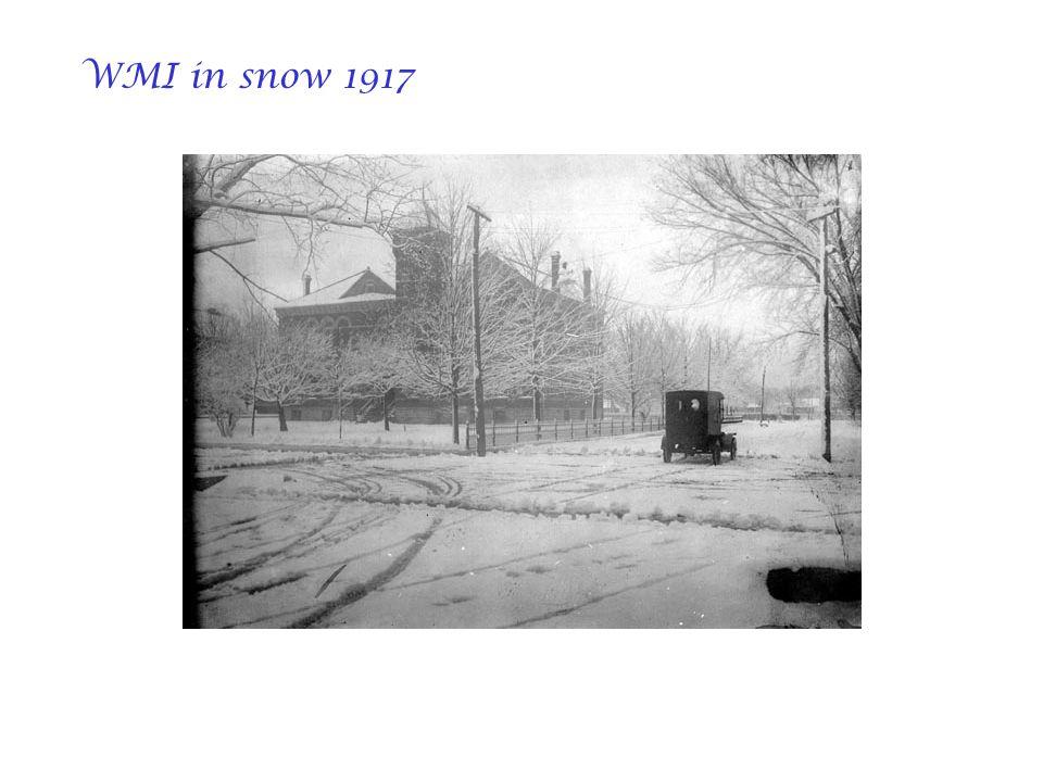 WMI in snow 1917