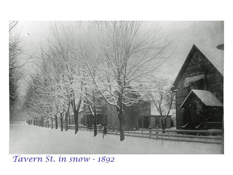 Tavern St. in snow - 1892