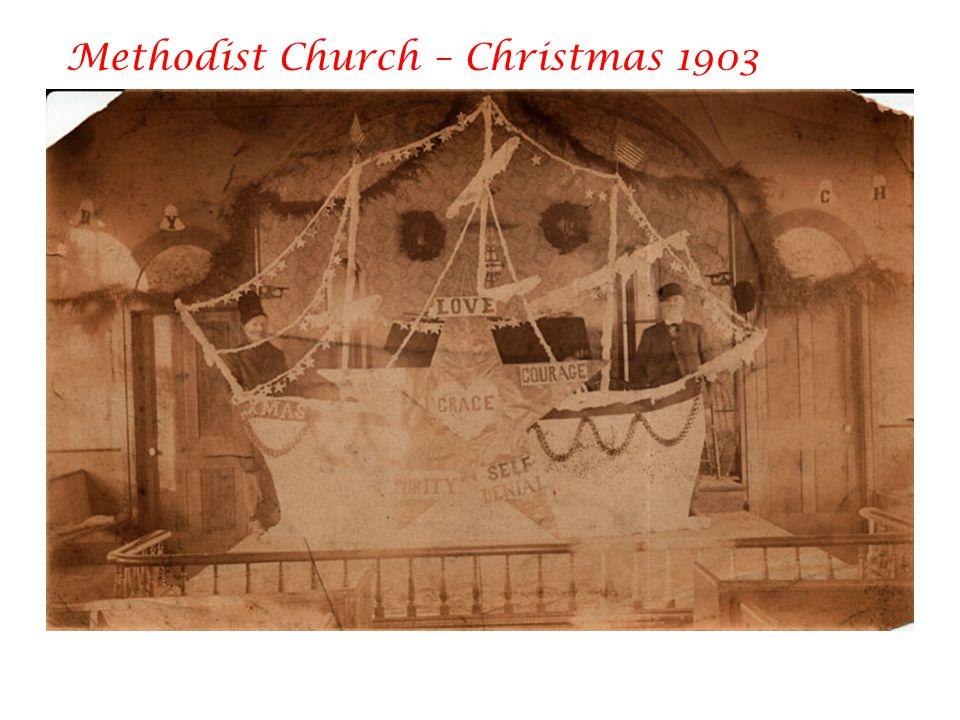 Methodist Church – Christmas 1903