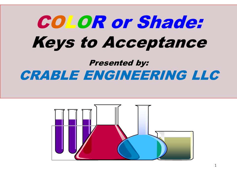 Color Control Exercises: Case 2 (Using Red, Blue, and Yellow Dyes.) n Standard Measures: L* = 81.9, a* = -22.7, b* = 13.4 What color is this.