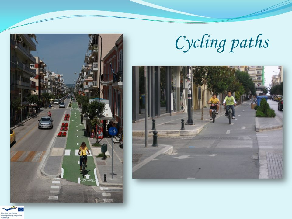 Cycling paths