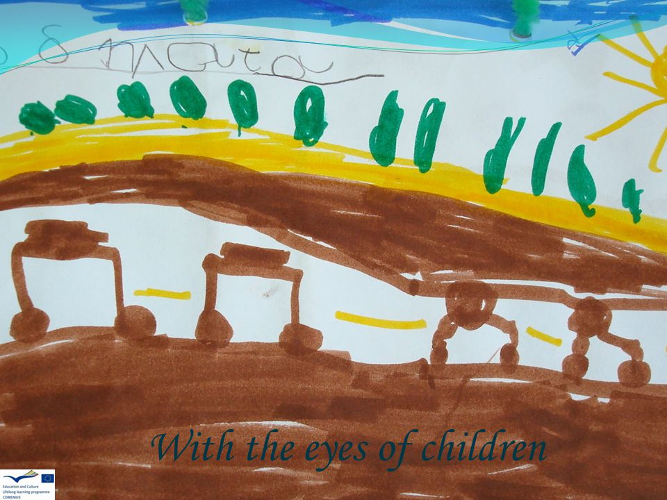 With the eyes of children