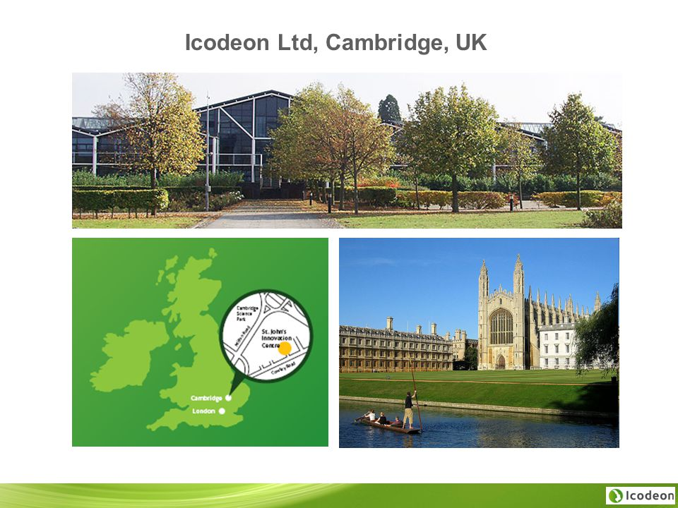 Icodeon Ltd, Cambridge, UK