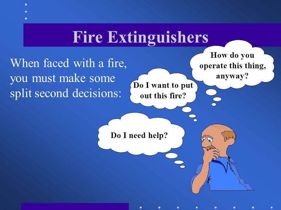 Fire Extinguishers CLASS D : Class D type fires involve combustible metals such as magnesium, titanium, sodium, etc.