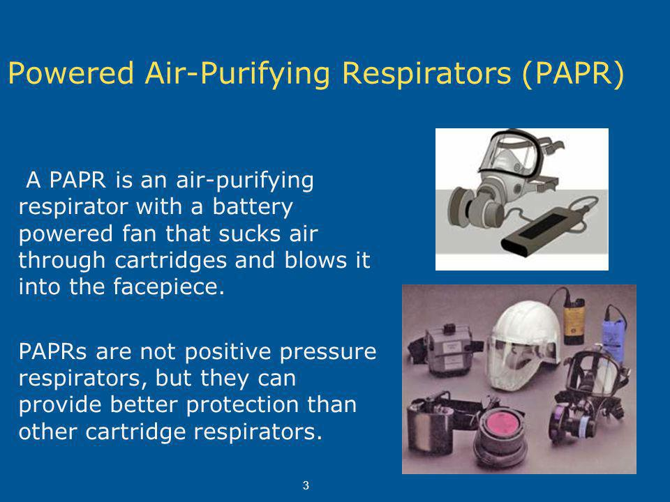 Respirator Training Training is required by WISHA for anyone who wears a respirator.