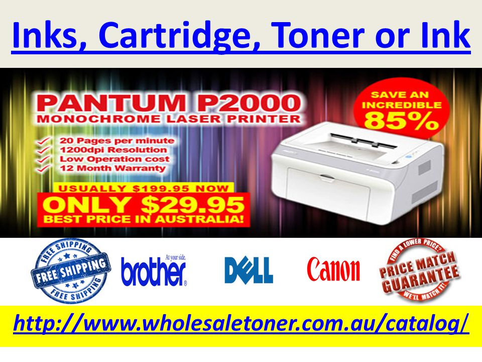 Inks, Cartridge, Toner or Ink http://www.wholesaletoner.com.au/catalog/