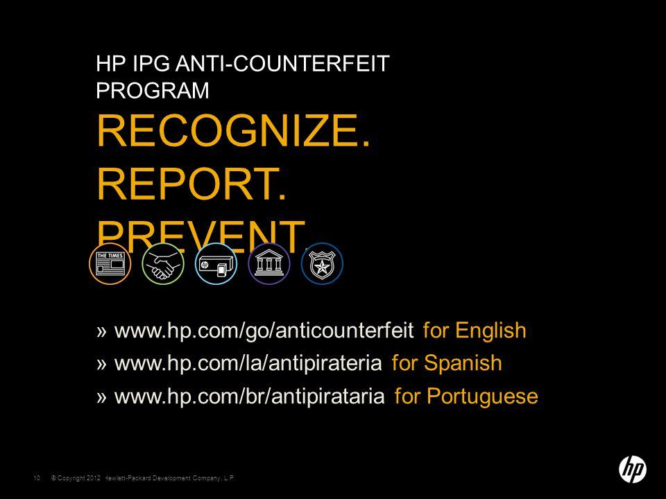 © Copyright 2011 Hewlett-Packard Development Company, L.P.