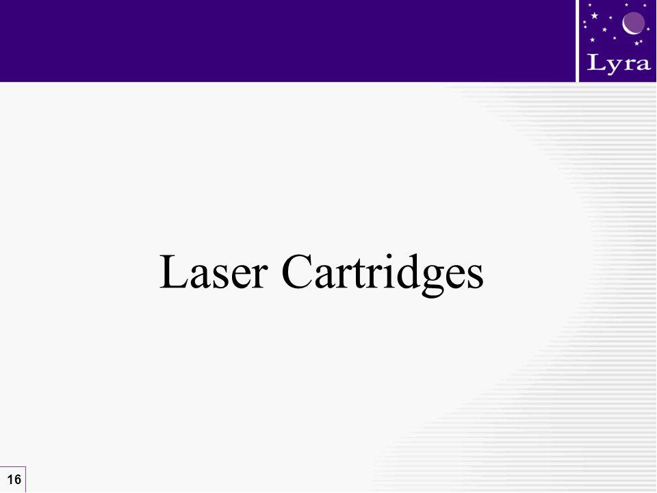 16 Laser Cartridges