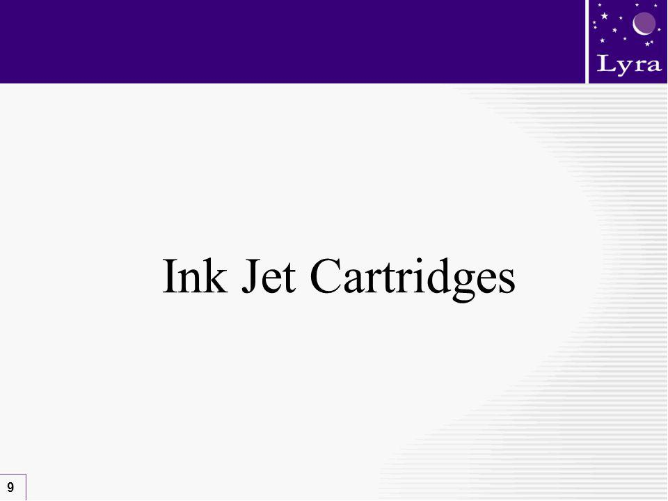 9 Ink Jet Cartridges
