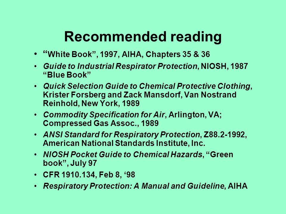 OSHAs Respiratory Protection Program 1.Written program 2.