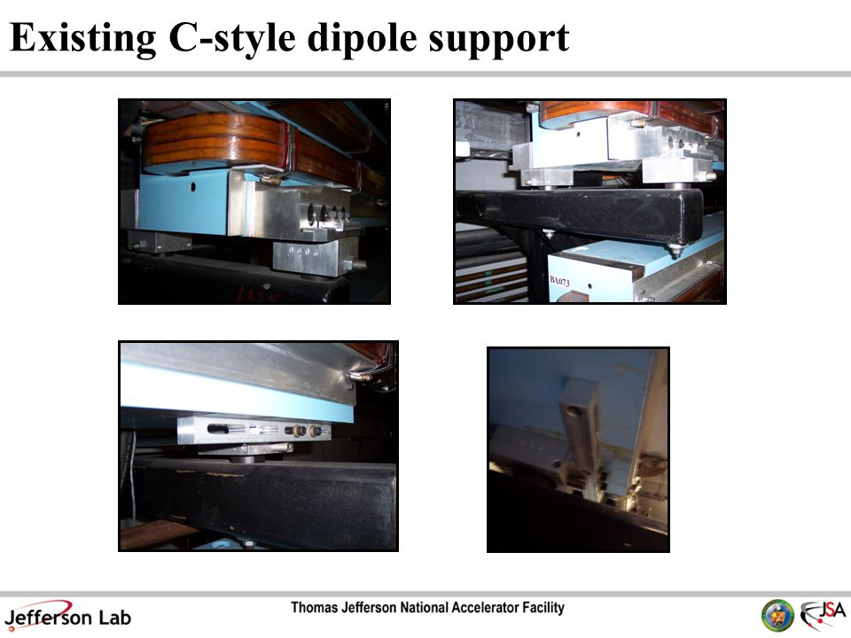Existing C-style dipole support