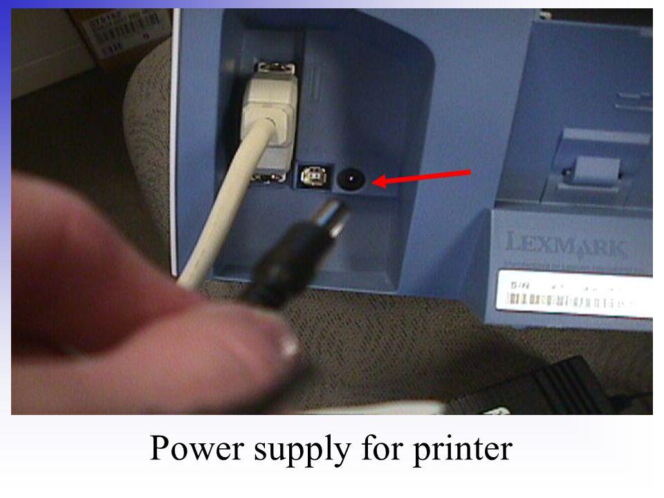 Power supply for printer