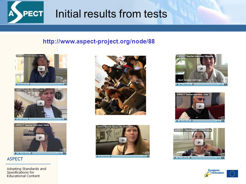 Initial results from tests http://www.aspect-project.org/node/88