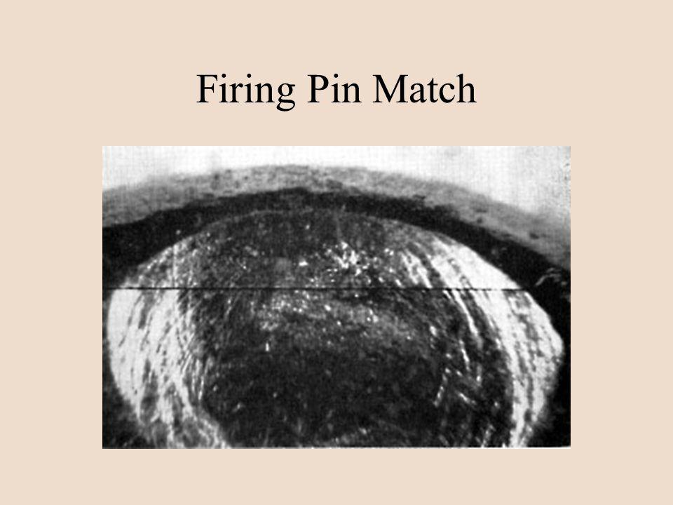 Firing Pin Match