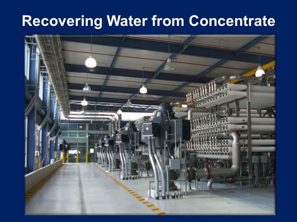 At full design capacity, Kay Bailey Hutchison Desalination Plant will generate 3 MGD of concentrate.