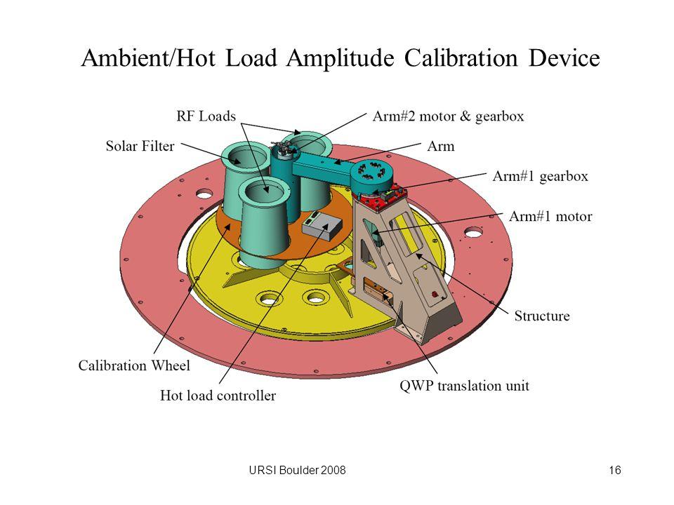 URSI Boulder 200816 Ambient/Hot Load Amplitude Calibration Device