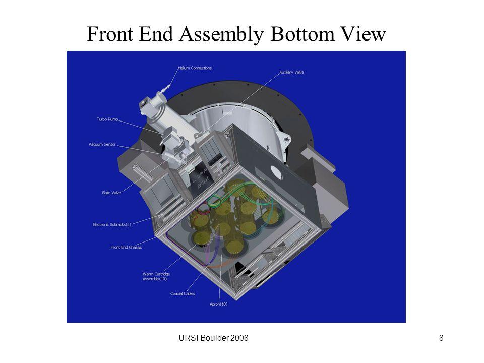 URSI Boulder 20088 Front End Assembly Bottom View