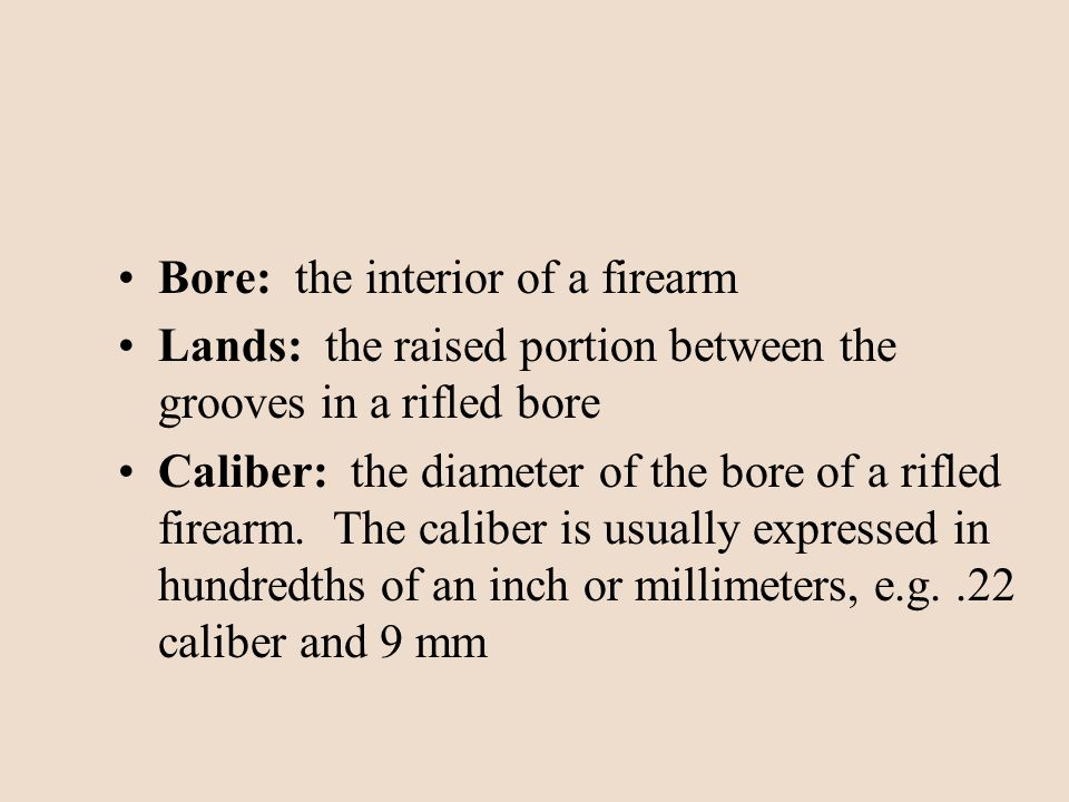 Bullet Comparisons One bullet is rotated until a well-defined land or groove comes into view The other bullet is then rotated in search of a matching region Analyst must allow for distortion between bullets due to mutilation on impact
