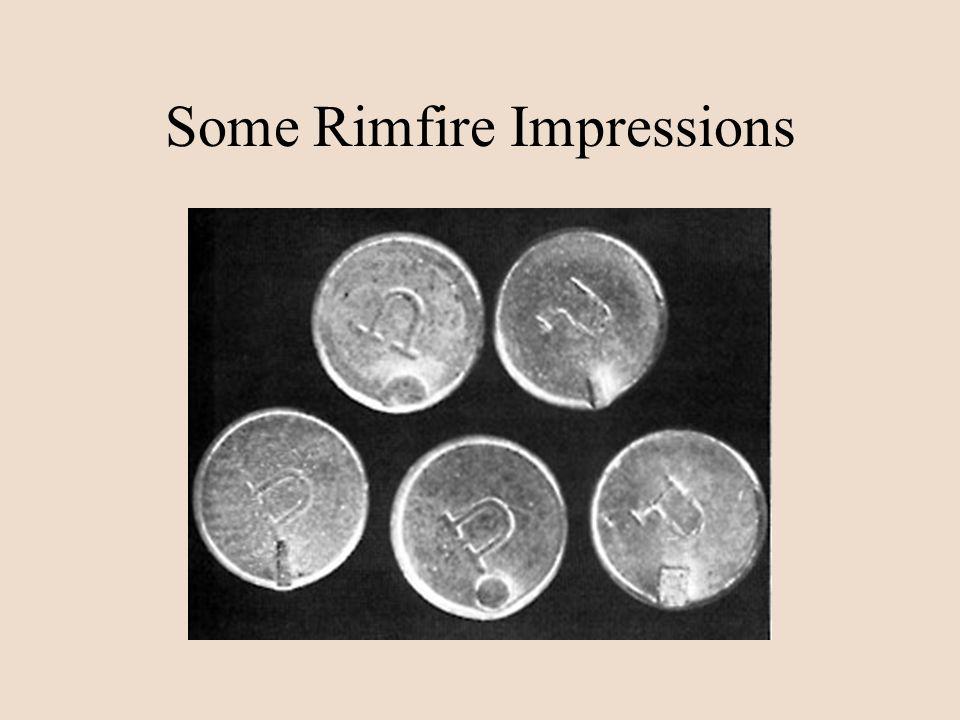 Some Rimfire Impressions