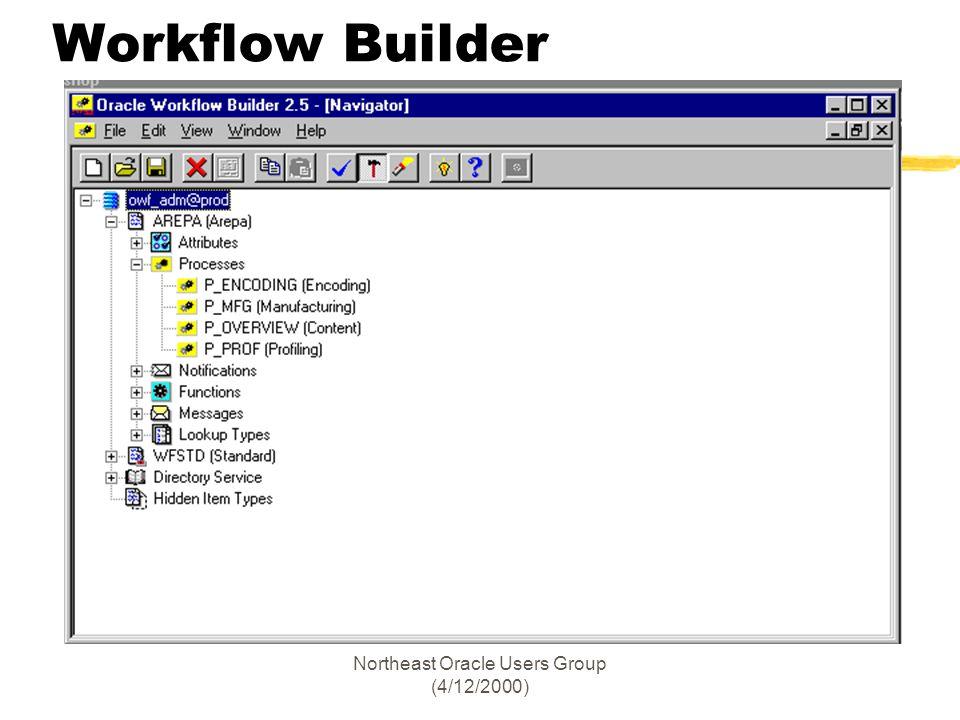 Northeast Oracle Users Group (4/12/2000) Workflow Builder