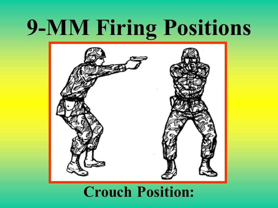9-MM Firing Positions Kneeling Position: