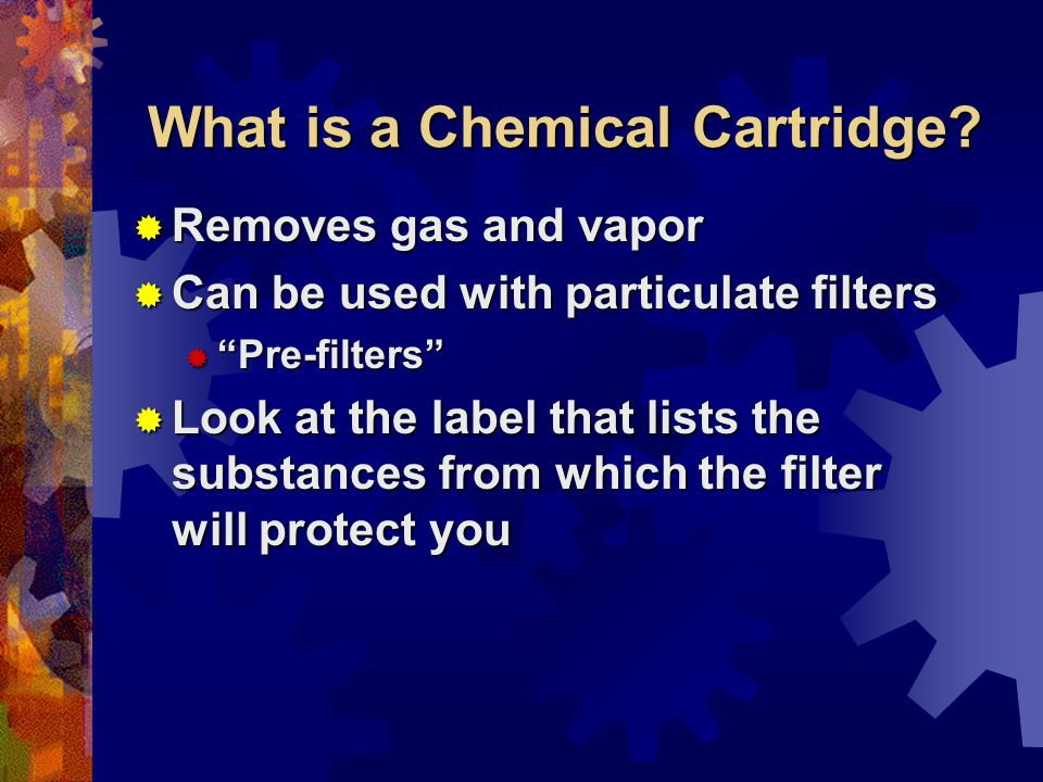 What is a Chemical Cartridge.