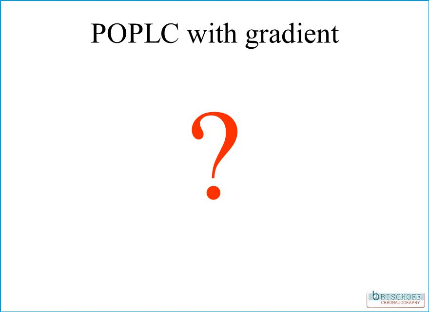 POPLC with gradient ?
