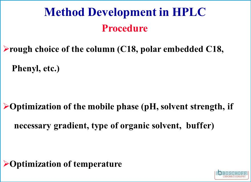 What is POPLC ® ? P hase OP timized L iquid C hromatography ® P ersonal P erformance