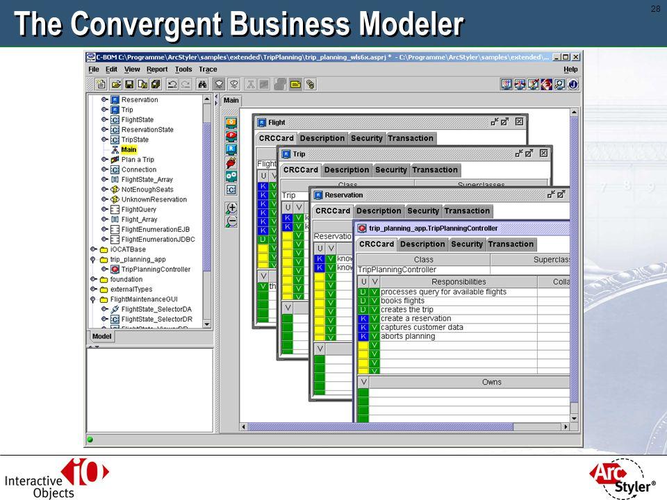 27 The Convergent Business Modeler