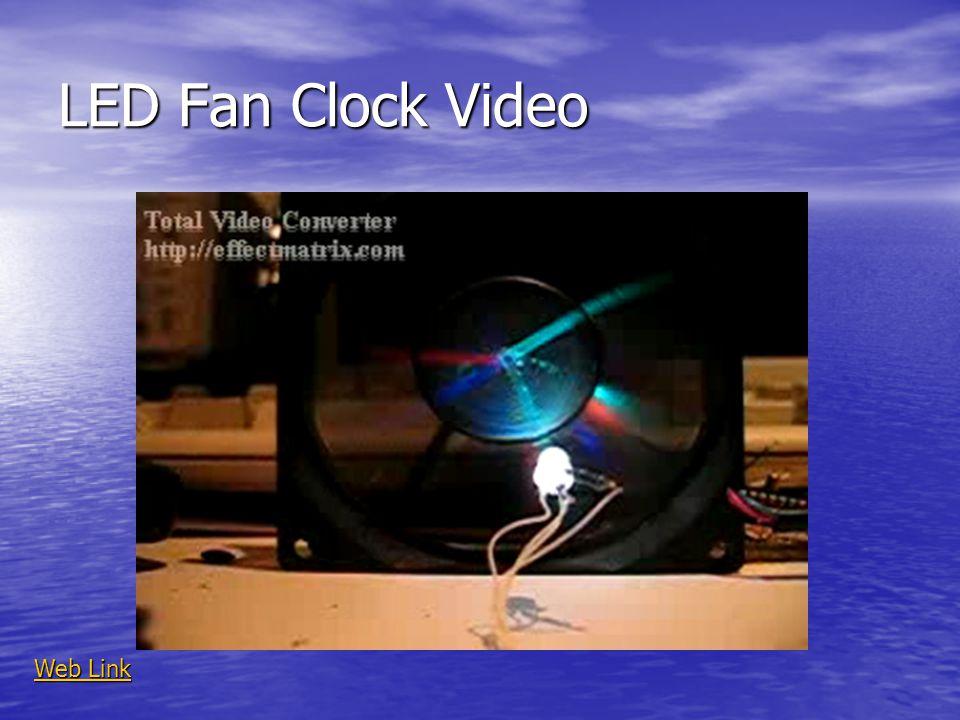 LED Fan Clock Video Web Link Web Link