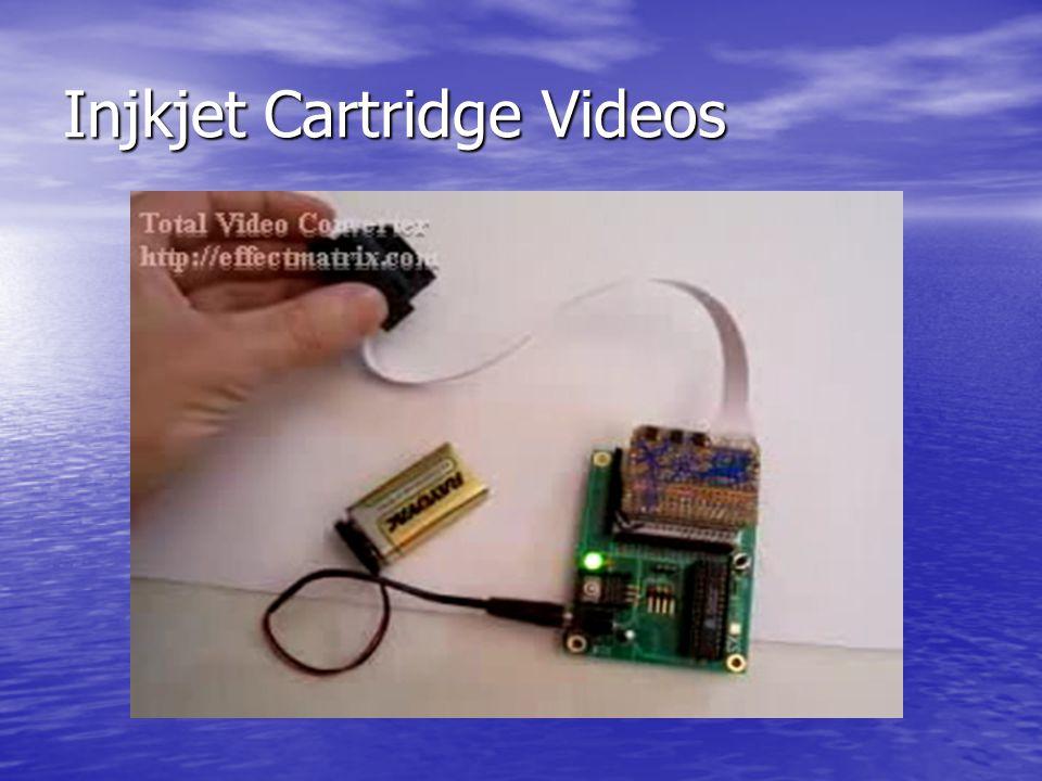 Injkjet Cartridge Videos