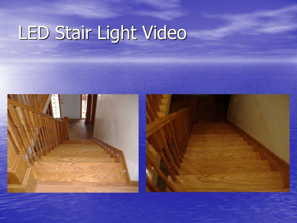 LED Stair Light Video